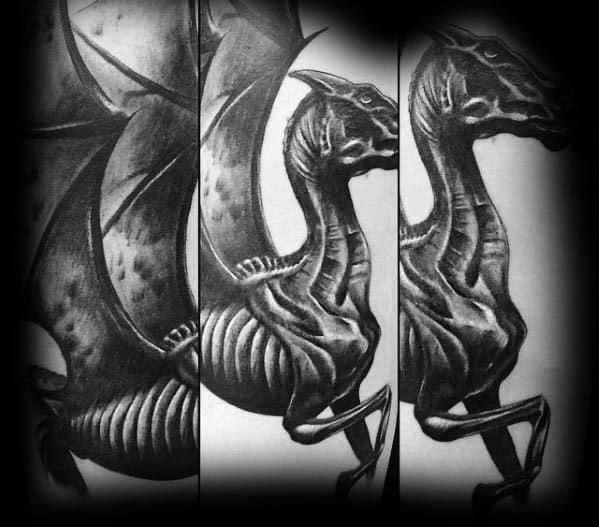 Mens Thestral Tattoo Ideas