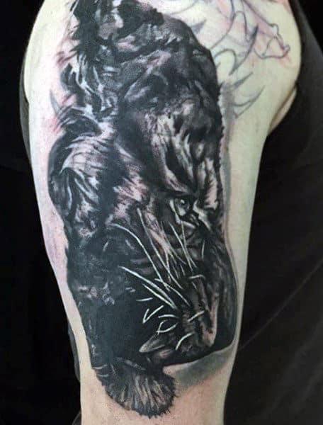 Men's Tiger Tattoos