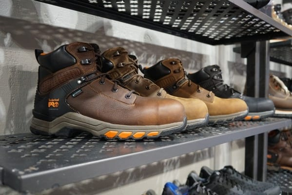 Mens Timberland Work And Hiking Boots