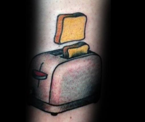 Mens Toast Tattoo Ideas