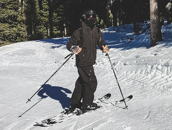 Mens Tobe Novo Ski Outerwear Jacket And Bib Black Review