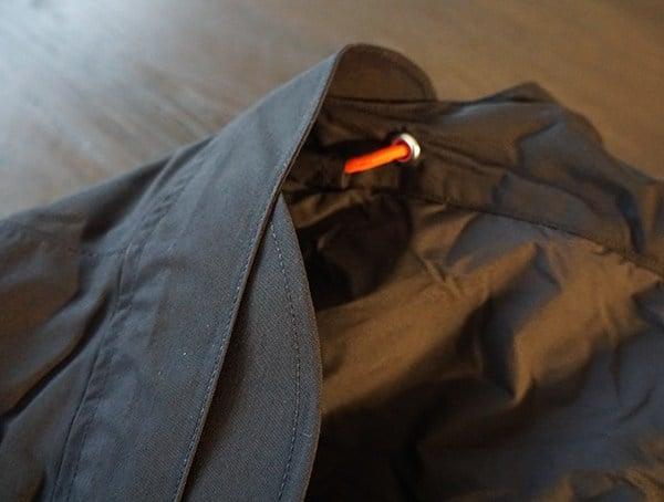 Mens Topo Designs Mountain Jacket Adjustable Hood With Brim