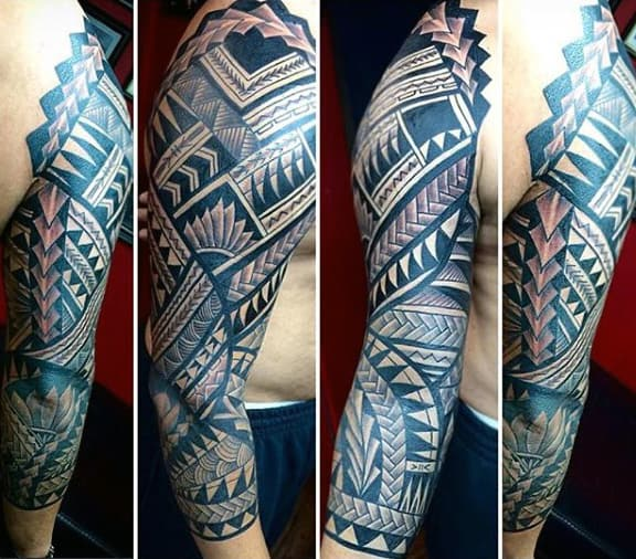 Mens Tribal Sleeve Tattoos Mens Designs