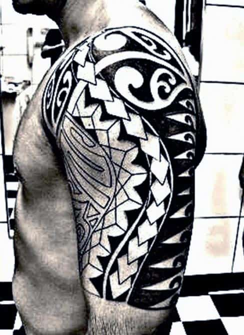 Men's Tribal Tattoo Designs