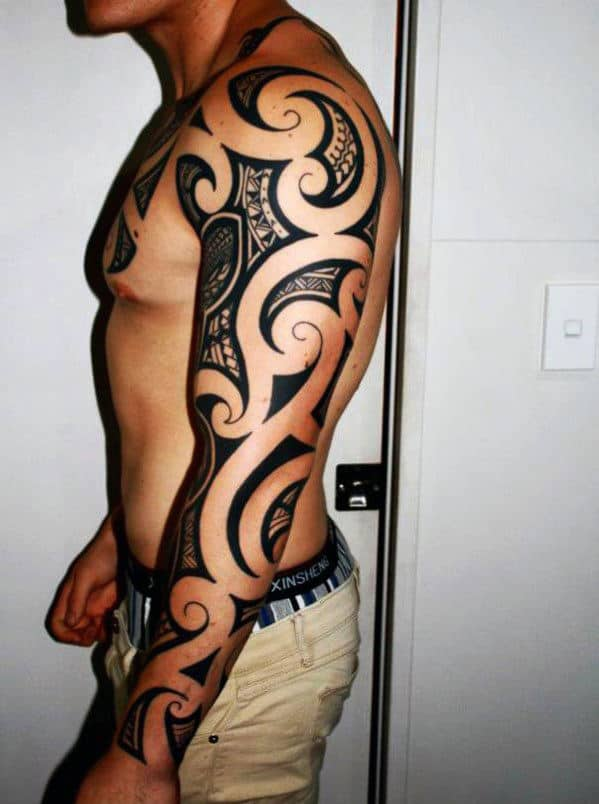 Men's Tribal Tattoos