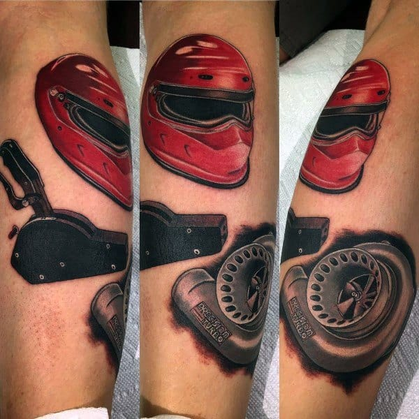 Mens Turbo Tattoo Ideas