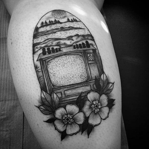 Mens Tv Tattoo Designs
