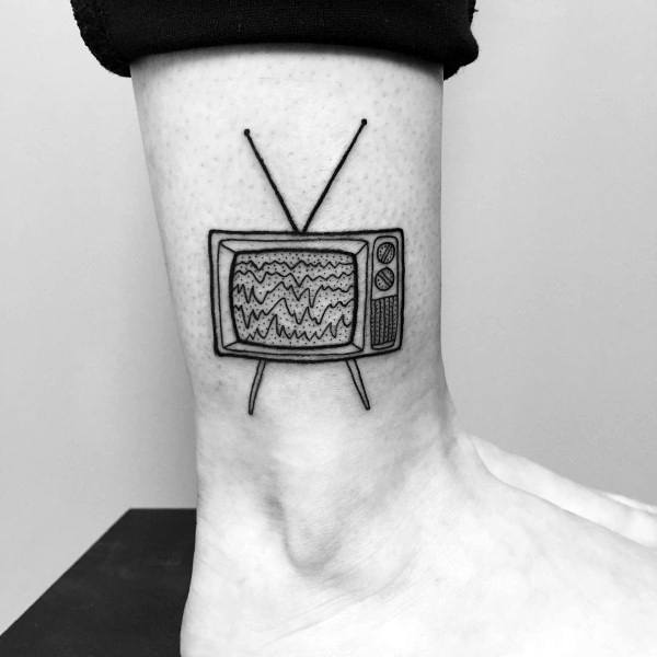 Mens Tv Tattoo