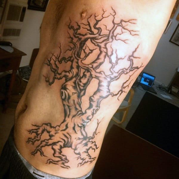 Mens Twisted Oak Tree