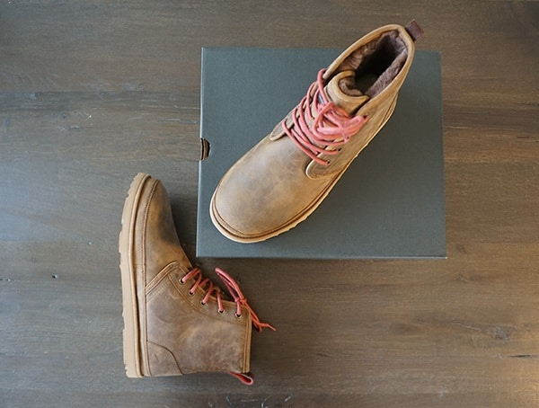 Mens Ugg Harkley Boots Seam Sealed Construciton