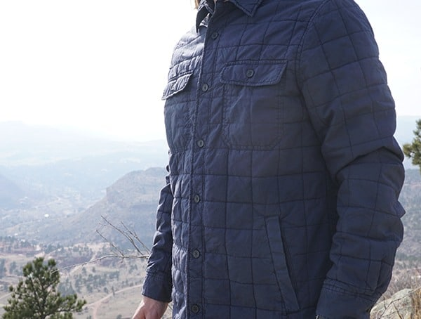 Mens Ugg Trent Quilted Shirt Jacket Review
