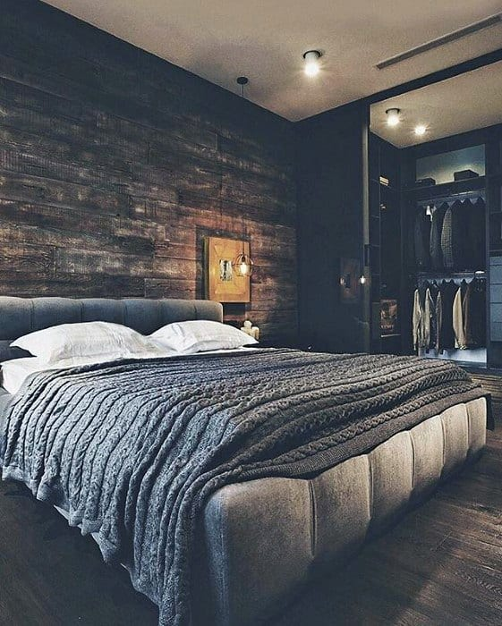 Mens Ultimate Bachelor Pad Bedroom Designs