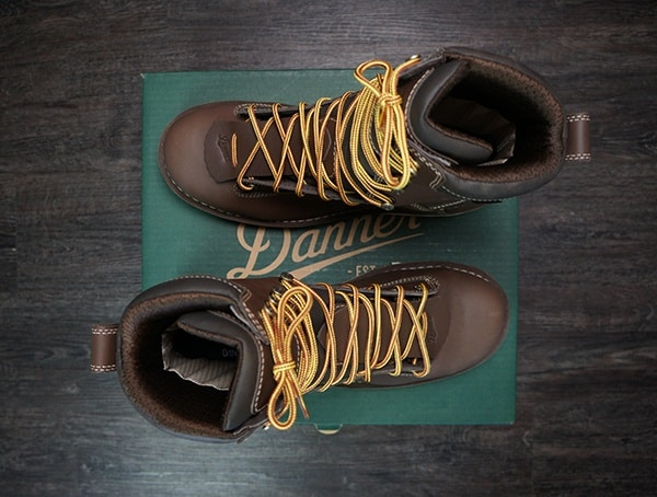 Mens Usa Made Danner Quarry Brown Alloy Toe Wedge Boot