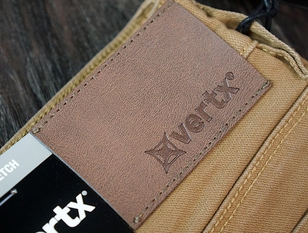 Mens Vertx Delta Strech Pants Branded Leather Logo