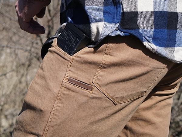 Mens Vertx Delta Strech Pants Detail Pockets