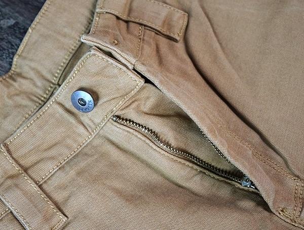 Mens Vertx Delta Strech Pants Zipper And Button Closure