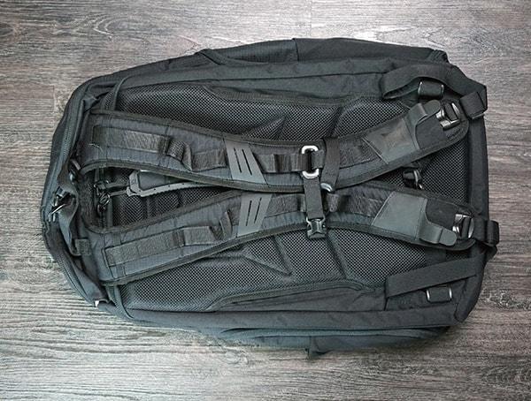 Mens Vertx Edc Gamut Plus Backpack Review Back