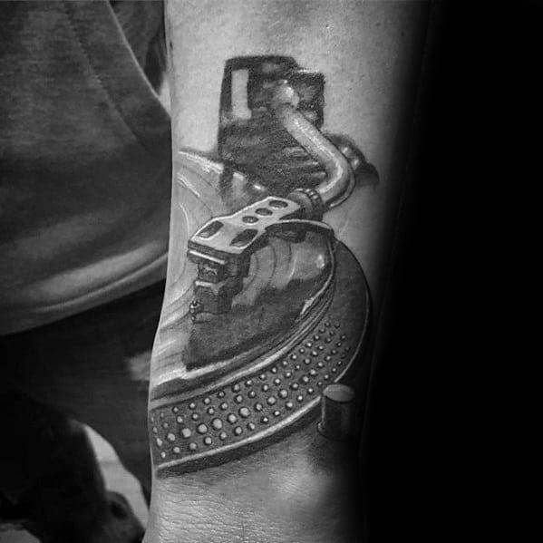 50 Vinyl Record Tattoo...