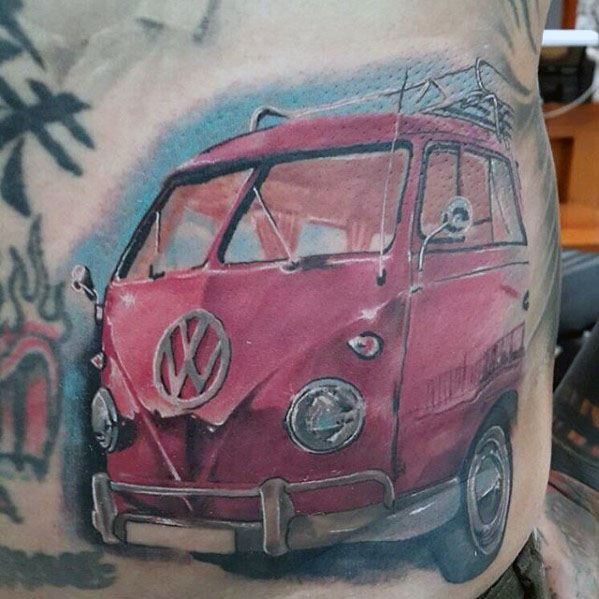 Mens Volkswagen Wv Tattoo Ideas