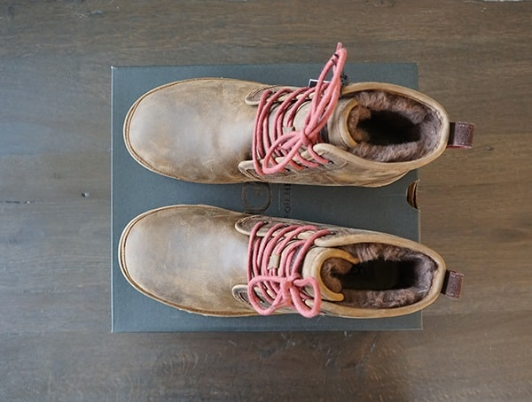 Mens Waterproof Full Grain Leather Harkley Ugg Boots