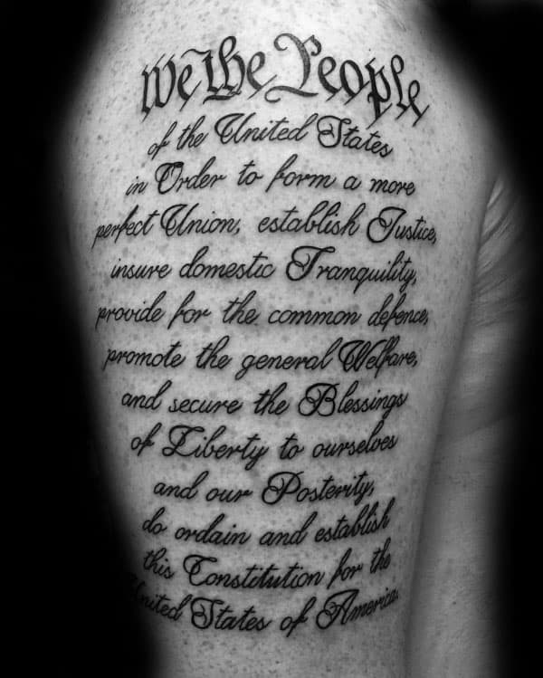 Image result for constitution tattoo