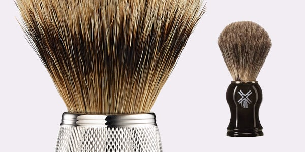 Men's Wet Shaving Brush Tips
