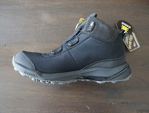 Mens Winter Boots Icebug Detour Bugrip Gore Tex Side