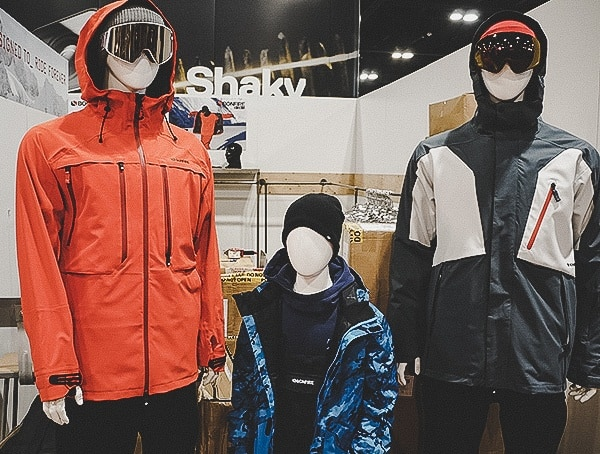Mens Winter Ski Outwear Collection