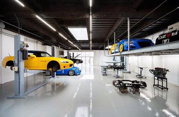 Mens Work Shop Lift Dream Garage