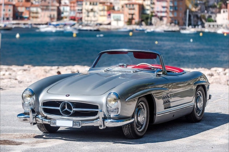 This $1.1 Million 1957 Mercedes-Benz 300 SL Roadster Is Turning Heads