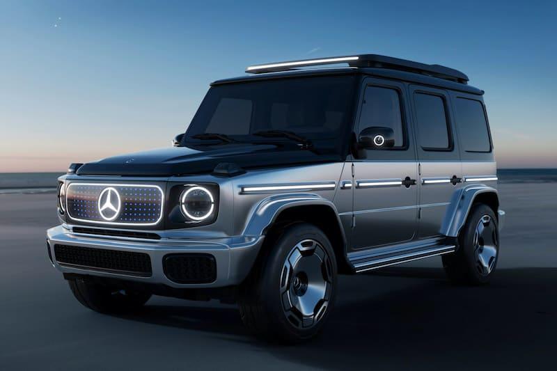 Mercedes-Benz Unveils Electric G-Wagon Concept