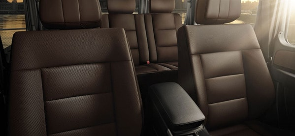 Mercedes Benz G63 AMG Seats