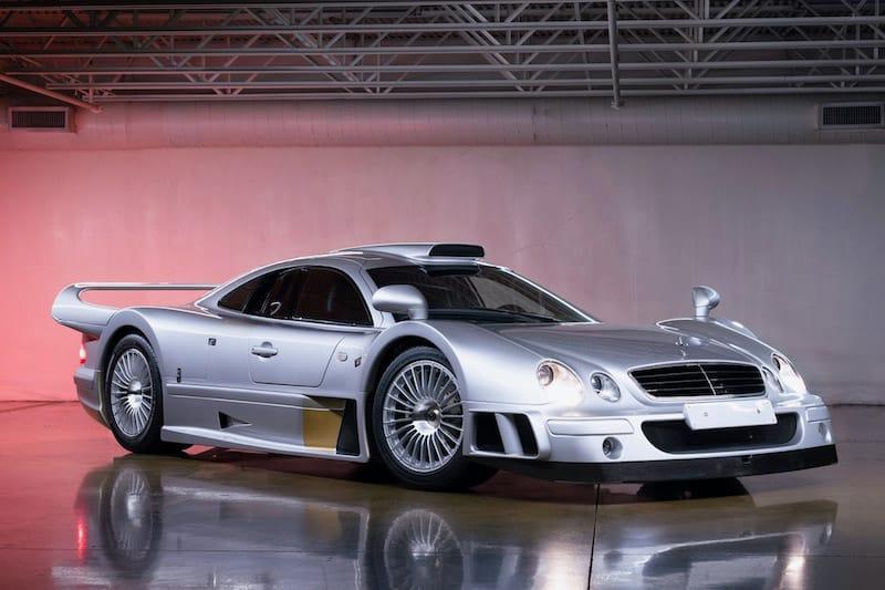Unique 1998 Mercedes-Benz AMG CLK GTR Up for Grabs