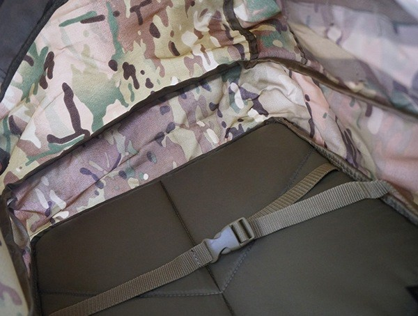 Mercury Tactical 3 Day Strech Interior