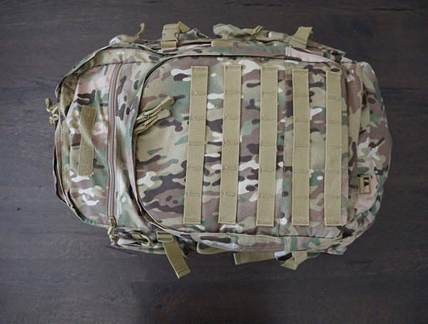 Mercury Tactical Recon Backpack Front