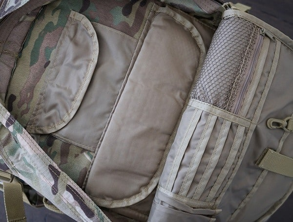 Mercury Tactical Recon Backpack Organizational Panel