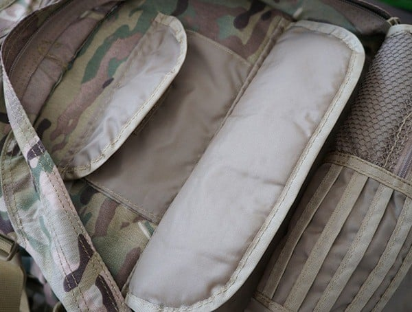 Mercury Tactical Recon Backpack Organized Panel Compartments