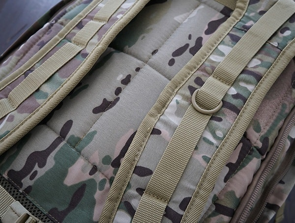 Mercury Tactical Recon Backpack Shoulder Straps Detail
