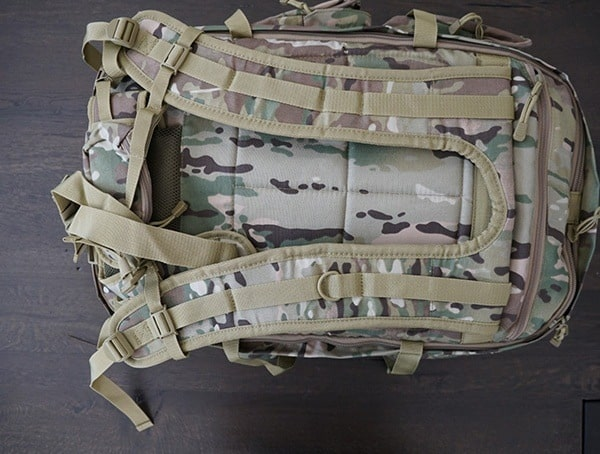 Mercury Tactical Recon Backpacks Back