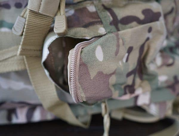 Mercury Tactical Recon Camo Side Pockets Backpack