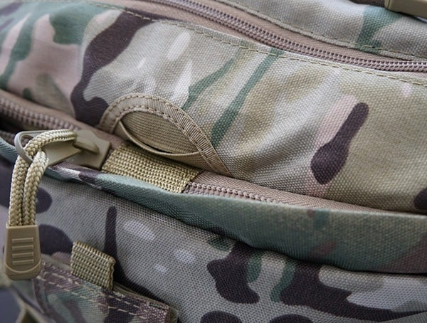 Mercury Tactical Recon Routing Hole On Backpack