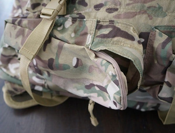 Mercury Tactical Recon Side Pocket Open Backpack