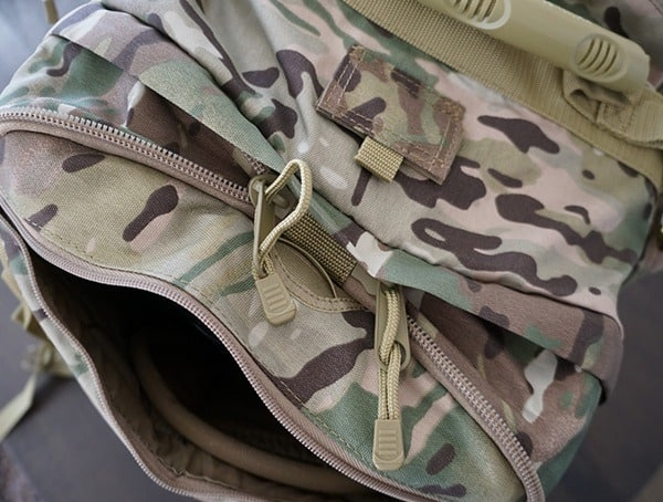 Mercury Tactical Recon Top Zippers Expanded Backpack