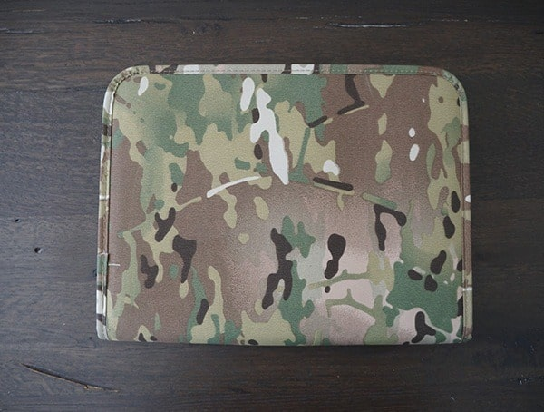 Mercury Tactical Zippered Padfolio Back