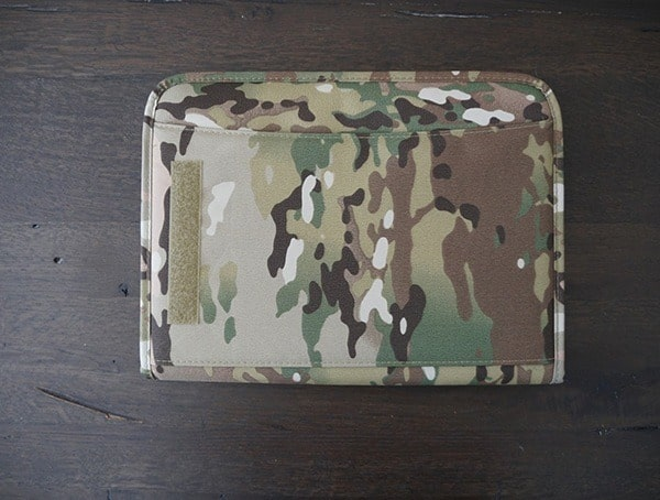 Mercury Tactical Zippered Padfolio Front