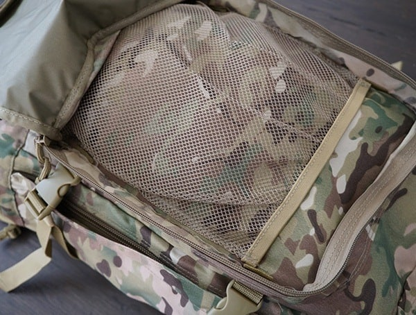 Mesh Compartment Mercury Tactical 3 Day Strech Backpack