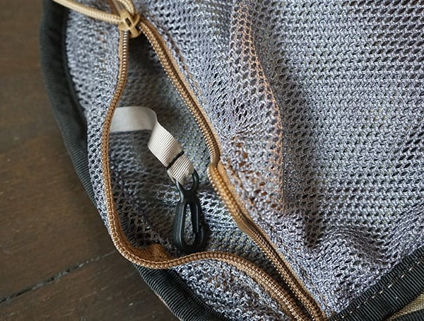 Mesh Pocket With Hanger Hook Camelbak Miltac Mule Pack