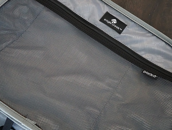 Mesh Pockets Eagle Creek Morphus International Carry On Interior