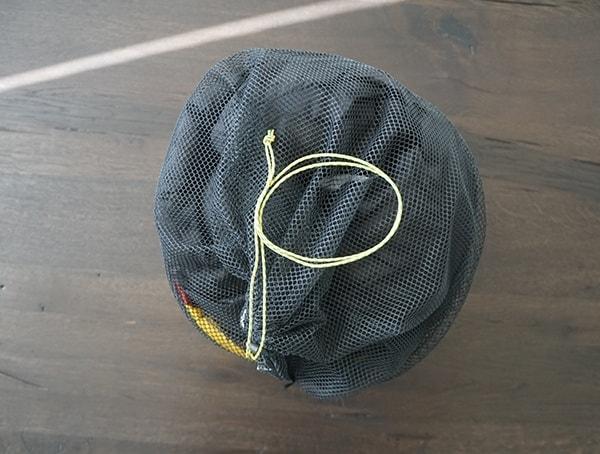 Mesh Sack With Pull Cord Sierra Designs Nitro 800 20 Degree Sleeping Bag