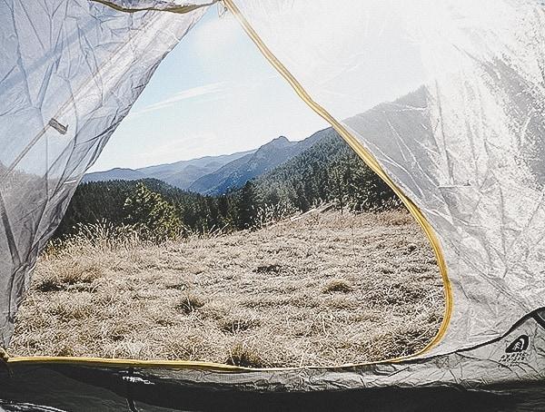 Mesh Zippered Door Review Sierra Designs Sweet Suite 3 Tent
